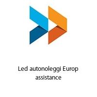 Led autonoleggi Europ assistance