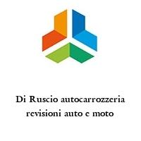 Di Ruscio autocarrozzeria revisioni auto e moto