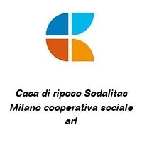 Casa di riposo Sodalitas Milano cooperativa sociale arl