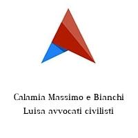 Calamia Massimo e Bianchi Luisa avvocati civilisti