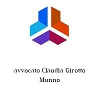 avvocato Claudia Girotto Munno
