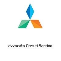 avvocato Cerruti Santino