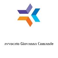 avvocato Giovanna Comande