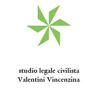 studio legale civilista Valentini Vincenzina