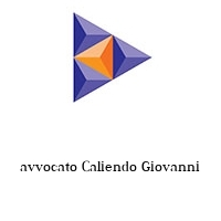 avvocato Caliendo Giovanni