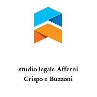 studio legale Afferni Crispo e Buzzoni