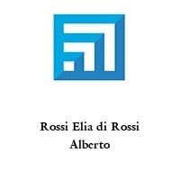 Rossi Elia di Rossi Alberto