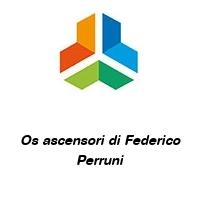 Os ascensori di Federico Perruni