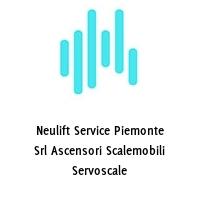 Neulift Service Piemonte Srl Ascensori Scalemobili Servoscale