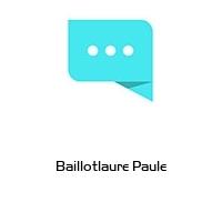 Baillotlaure Paule
