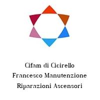 Cifam di Cicirello Francesco Manutenzione Riparazioni Ascensori