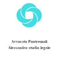 Avvocato Pontremoli Alessandro studio legale