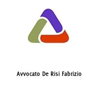 Avvocato De Risi Fabrizio