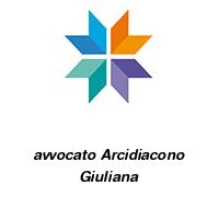 avvocato Arcidiacono Giuliana