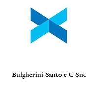 Bulgherini Santo e C Snc