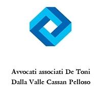 Avvocati associati De Toni Dalla Valle Cassan Pelloso