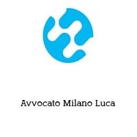 Avvocato Milano Luca