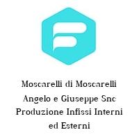 Moscarelli di Moscarelli Angelo e Giuseppe Snc Produzione Infissi Interni ed Esterni