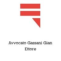 Avvocato Gassani Gian Ettore