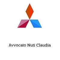 Avvocato Nuti Claudia
