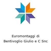 Euromontaggi di Bentivoglio Giulio e C Snc