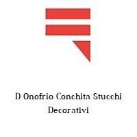 D Onofrio Conchita Stucchi Decorativi