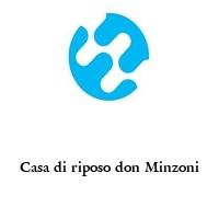 Casa di riposo don Minzoni