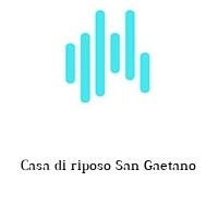 Casa di riposo San Gaetano