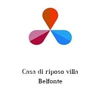 Casa di riposo villa Belfonte