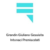 Grandin Giuliano Gessista Intonaci Premiscelati