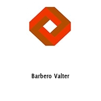 Barbero Valter