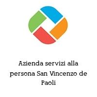 Azienda servizi alla persona San Vincenzo de Paoli