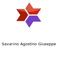 Savarino Agostino Giuseppe