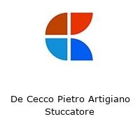De Cecco Pietro Artigiano Stuccatore