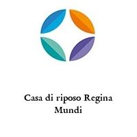 Casa di riposo Regina Mundi