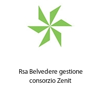 Rsa Belvedere gestione consorzio Zenit