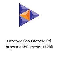 Europea San Giorgio Srl Impermeabilizzazioni Edili