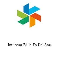 Impresa Edile Fa Del Snc