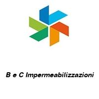 B e C Impermeabilizzazioni
