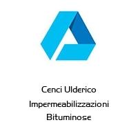 Cenci Ulderico Impermeabilizzazioni Bituminose