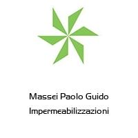 Massei Paolo Guido Impermeabilizzazioni
