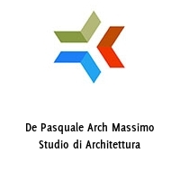 De Pasquale Arch Massimo Studio di Architettura