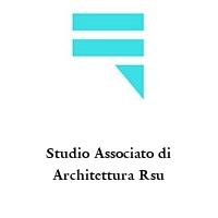 Studio Associato di Architettura Rsu