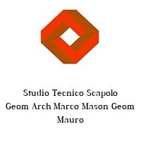 Studio Tecnico Scapolo Geom Arch Marco Mason Geom Mauro