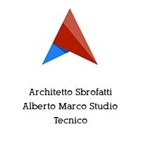 Architetto Sbrofatti Alberto Marco Studio Tecnico