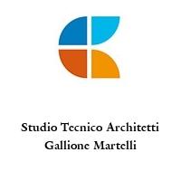 Studio Tecnico Architetti Gallione Martelli