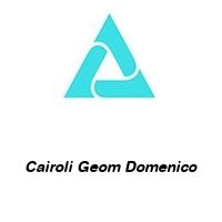 Cairoli Geom Domenico
