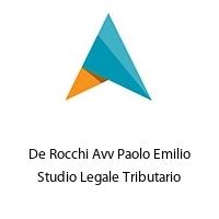 De Rocchi Avv Paolo Emilio Studio Legale Tributario