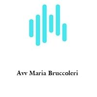 Avv Maria Bruccoleri