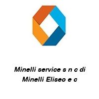 Minelli service s n c di Minelli Eliseo e c